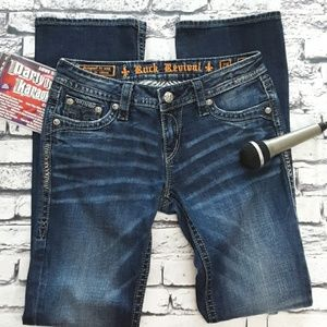 ROCK REVIVAL -  Holly Boot Style Jeans - EUC